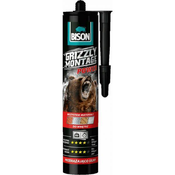 Bison - Grizzly Montage Power Κατασκευαστική Κόλλα 370g