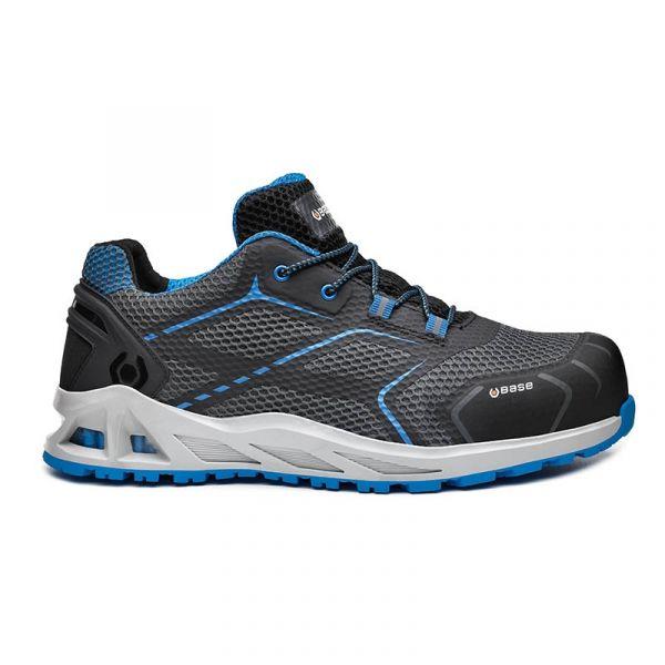 BASE - Παπούτσια Ασφαλείας K-MOVE S1P HRO SRC Μαύρο/Μπλε No.45